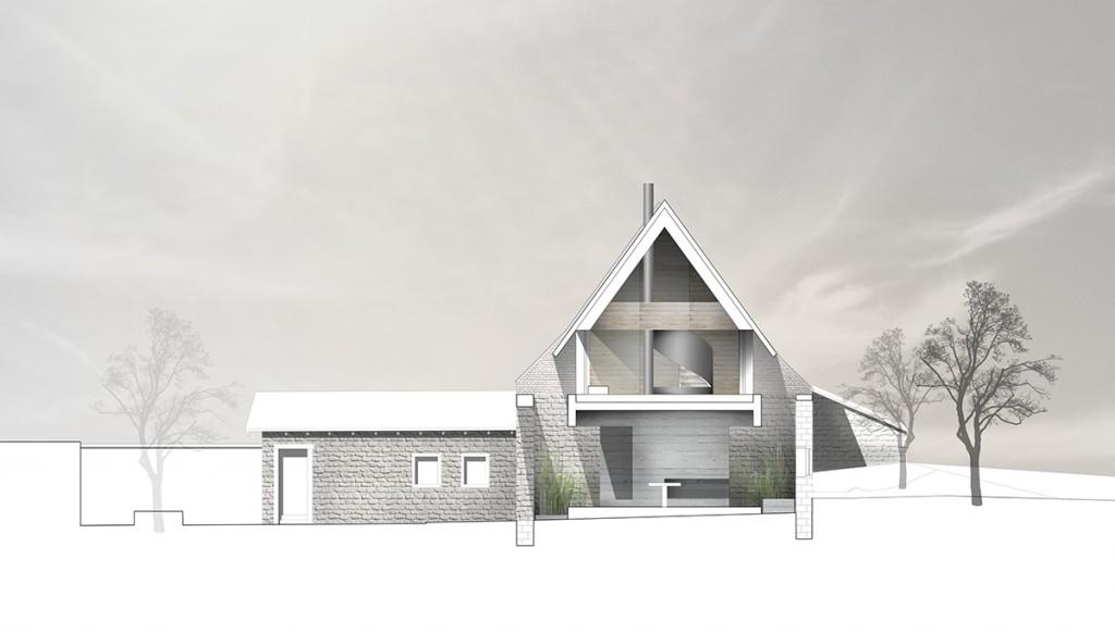 Nic 17 3 dury et hambsch umnutzung scheune goecklingen 02 - Architektur schnitt ...
