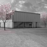 dury et hambsch architektur BDA, WohnLager, Landau 2015–2017,  Abb.: dury et hambsch