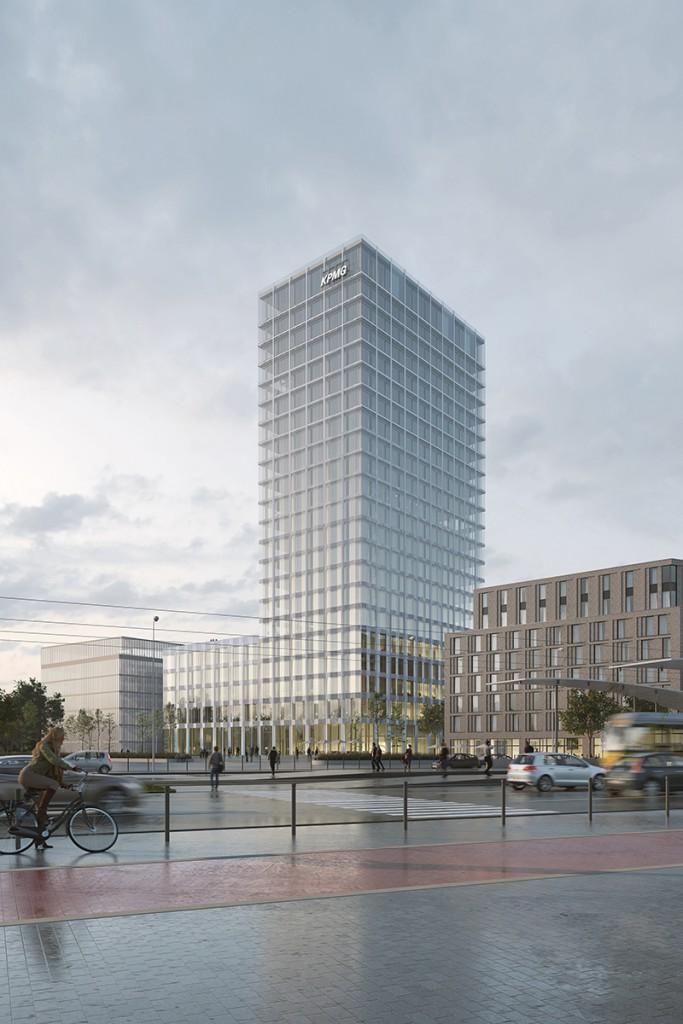 ArtefactoryLab, Allmann Sattler Wappner, Hochhaus Europaplatz