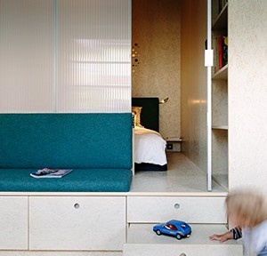 CBAG studio, Ausbau einer 2-Zimmer-Wohnung in Berlin, 2017