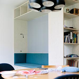 Cbag Architekten cbag studio ausbau einer 2 zimmer wohnung in berlin 2017 bda
