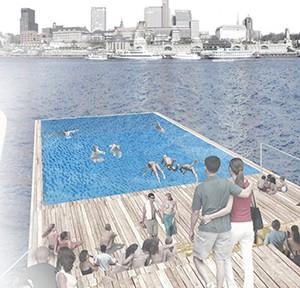 Schwimmdock, Ginger Architekten (Stefan Wentrup + Matthias Zahn)