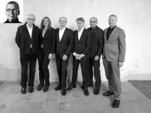 BDA-Präsidium (v.l.n.r.).: Susanne Wartzeck (eingeklinkt), Erwien Wachter, Elke Reichel, Heiner Farwick, Kai Koch, Christian Schmitz und Florian Boge, Foto: David Kasparek