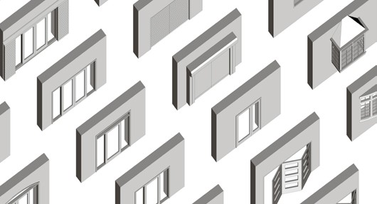 Standard Windows Doors ArchiCAD 21, 2017