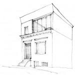 Wirth=Architekten BDA, Haus ohne Zimmer, Bremen 2015–2017, Entwurf, Abb.: Wirth