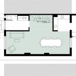 Wirth=Architekten BDA, Haus ohne Zimmer, Bremen 2015–2017, Grundriss EG, Abb.: Wirth