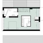 Wirth=Architekten BDA, Haus ohne Zimmer, Bremen 2015–2017, Grundriss OG, Abb.: Wirth