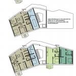 Wirth=Architekten BDA, Wohnraum schaffen, Wettbewerb, Bremen 2017, Grundrisse Haus B, Abb: Wirth