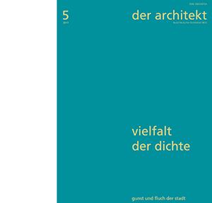 der architekt 2017-5_Inhalt