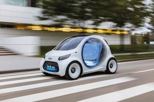 Smart vision EQ fortwo , Foto: Daimler smart vision EQ fortwo