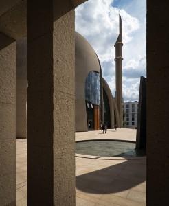 Paul Böhm, Zentralmoschee der DITIB, Köln 2006–2017, Foto: Christopher Schroer-Heiermann