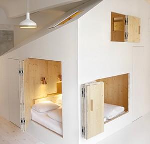 Sigurd Larsen Design & Architecture, Michelberger Hotel, Raum 304, Berlin 2015, Foto: Rita Lino