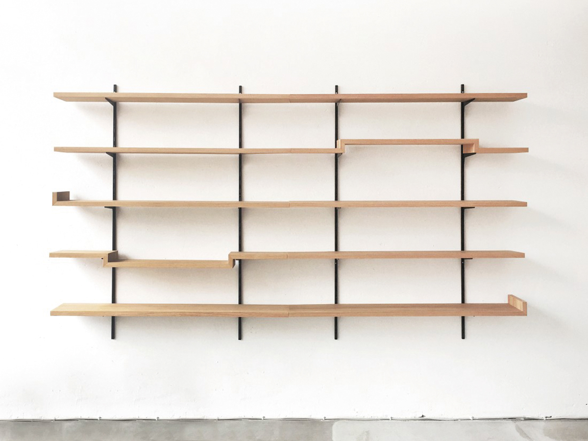 Sigurd Larsen Design & Architecture, Oak Shelves, Regalsystem, Berlin 2014, Fotos: Sigurd Larsen