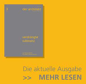 BDA | der architekt | Bund Deutscher Architekten