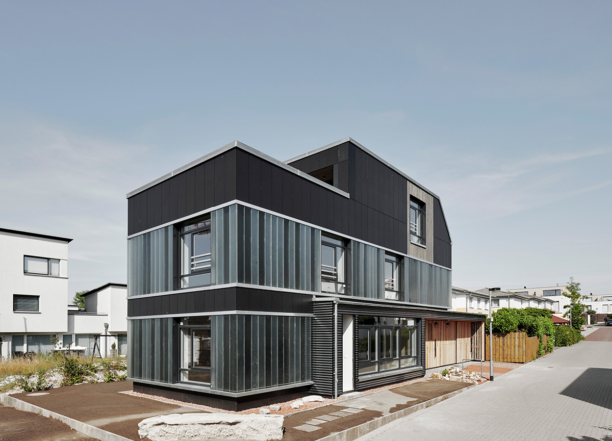 Cityförster architecture+urbanism, Recyclinghaus Hannover-Kronsberg, 2015 – 2019, Foto: Olaf Mahlstedt