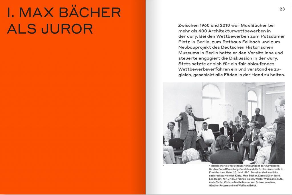 Max Bächer. 50 Meter Archiv, Abb.: M BOOKS