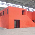 Jagsch Architekten BDA, Industriehalle mit Sozialtrakt, Eisenberg 2007, Foto: JA