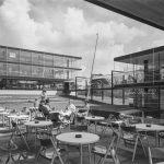Egon Eiermann und Sep Ruf, Deutscher Pavillon, Expo 58, Brüssel, Foto: saai, Eberhard Troeger