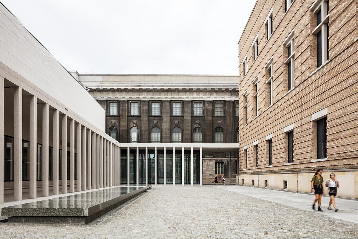 David Chipperfield Architects Berlin, James-Simon-Galerie, Berlin 1994–2019, Foto: Simon Menges, Ute Zscharnt