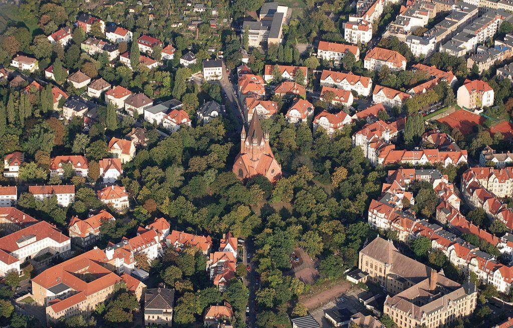 Paulusviertel, Halle an der Saale, Foto: Felix Abraham (via Wikimedia/CC BY-SA 3.0)