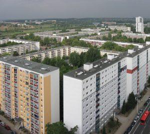 Halle-Neustadt, Foto: Nico Grunze