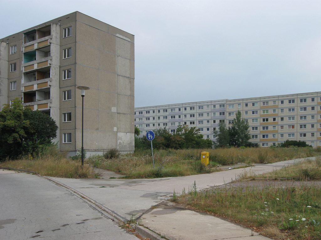 Quartier auf Zeit, Halle-Silberhöhe, Foto: Nico Grunze