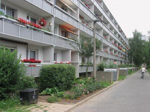 Wohnraum für die schwächsten Gesellschaftsmitglieder, Halle-Neustadt