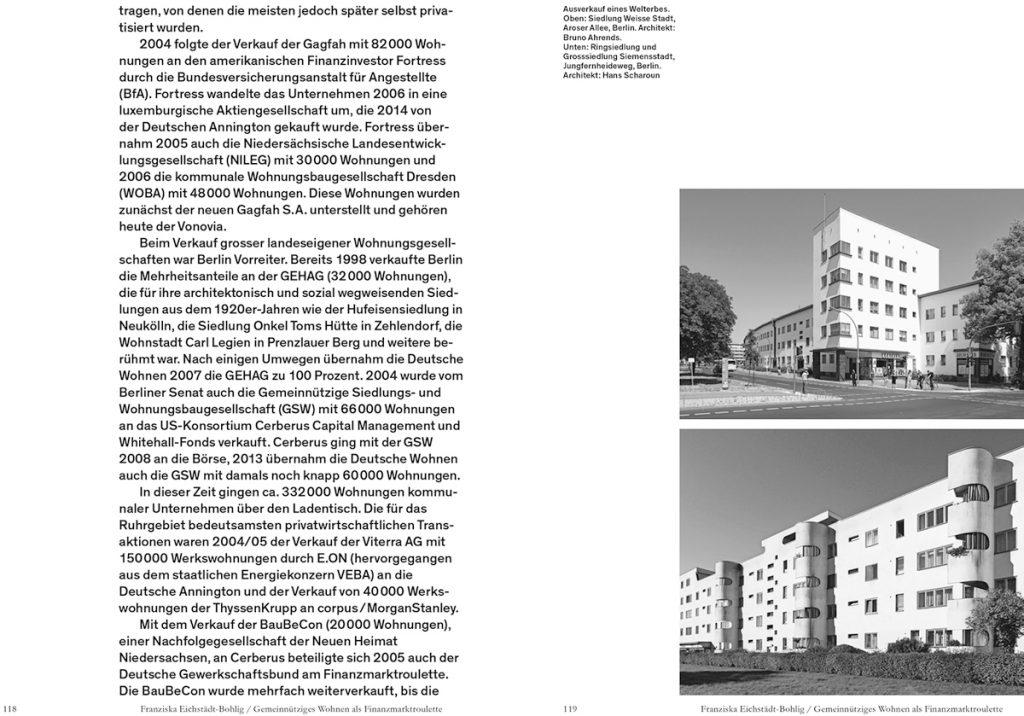 Florian Hertweck (Hrsg.): Architektur auf gemeinsamem Boden, Lars Müller Publishers, Auszug