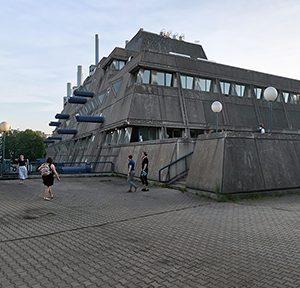 "Gerd und Magdalena Hänska, Zentrale Tierlaboratorien ""Mäusebunker"", Berlin-Steglitz, 1969-1972, Foto: Gunnar Klack"