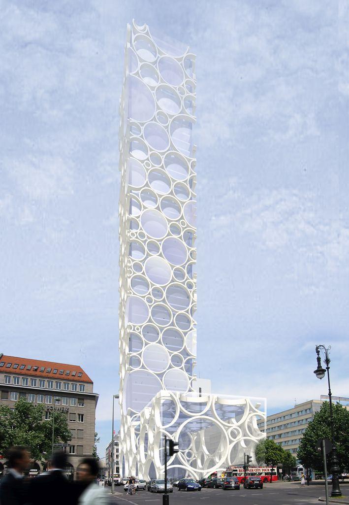 smo architekten, Entwurf Bubble High-Rise, Berlin 2002, Abbildung: smo architekten