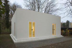 smo architekten (nach Oswalt Matthias Ungers), Gästehaus Hanstein, Köln 2006–2007, Foto: Rainer Mader