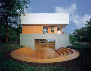 smo architekten / Thomas van den Valentyn, Musikgymnasium Schloss Belvedere, Weimar 1993–1995, Foto: Rainer Mader
