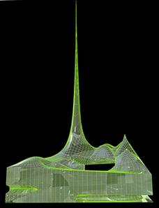 smo architekten, Wettbewerb Zentralmoschee, Köln 2005, Abbildung: smo architekten