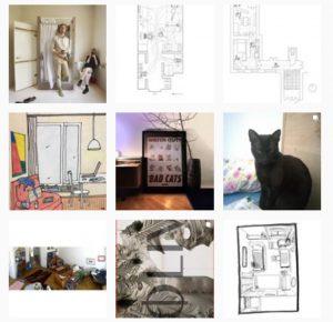 Architekturzentrum Wien, #wiewircoronawohnen, Screenshot: Instagram