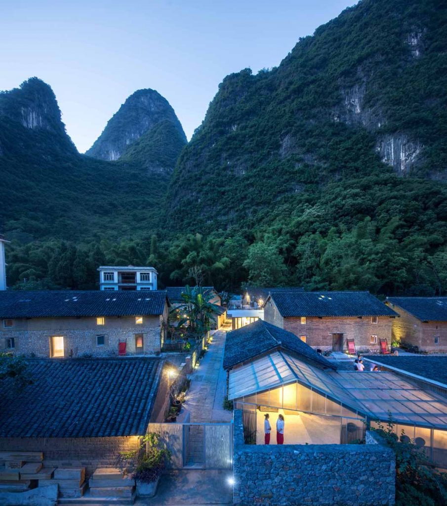 Yun House Boutique Eco-Resort von Ares Partners + Atelier Liu Yuyang Architects Foto: Tian Fangfang