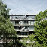 """orange architekten, Eckertstraße 1, """"einfach gebaut"""", Berlin 2016–2017, Foto: Jasmin Schuller"""