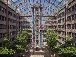 Gottfried Böhm, Züblin-Haus, Stuttgart-Möhringen, 1981-1985, Foto: Ed. Züblin AG