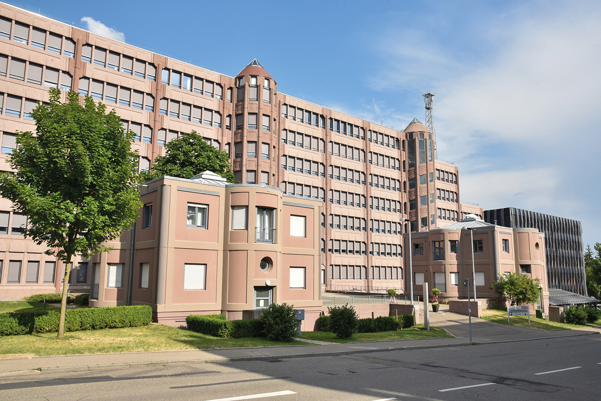 Gottfried Böhm, Züblin-Haus, Stuttgart-Möhringen, 1981-1985, Foto: Wolfgang List