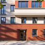 Schwedler-Carrè 01. Hauseingang am Wim-Duisenberg-Platz, Foto: Lisa Farkas