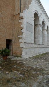 Leon Battista Alberti, Tempio Malatestiano, Rimini Italien 1453–150 unter Verwendung der gotischen Kirche San Francesco, 12. Jahrhundert