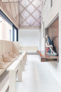 Bieling Architekten, Kirche St. Peter und Paul, Erzbischöfliches Priesterseminar, Paderborn 2017, Foto: Benjamin Zweig
