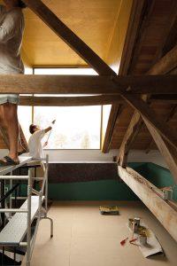 Buero Kofink Schels, Umbau einer Scheune, Rueyres, Frankreich 2015–2016, Foto: Simon Jüttner