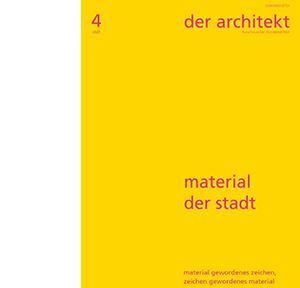 der architekt 4/20