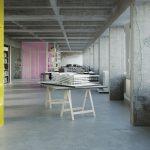 Tanja Lincke Architekten, DT 64, Umbau Jugendrundfunksendehaus, Berlin, seit 2020, Visualisierung: Ponnie Images