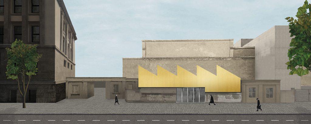 Tanja Lincke Architekten, Festhalle Rheinstahlgelände, Berlin, seit 2019, Visualisierung: TLA