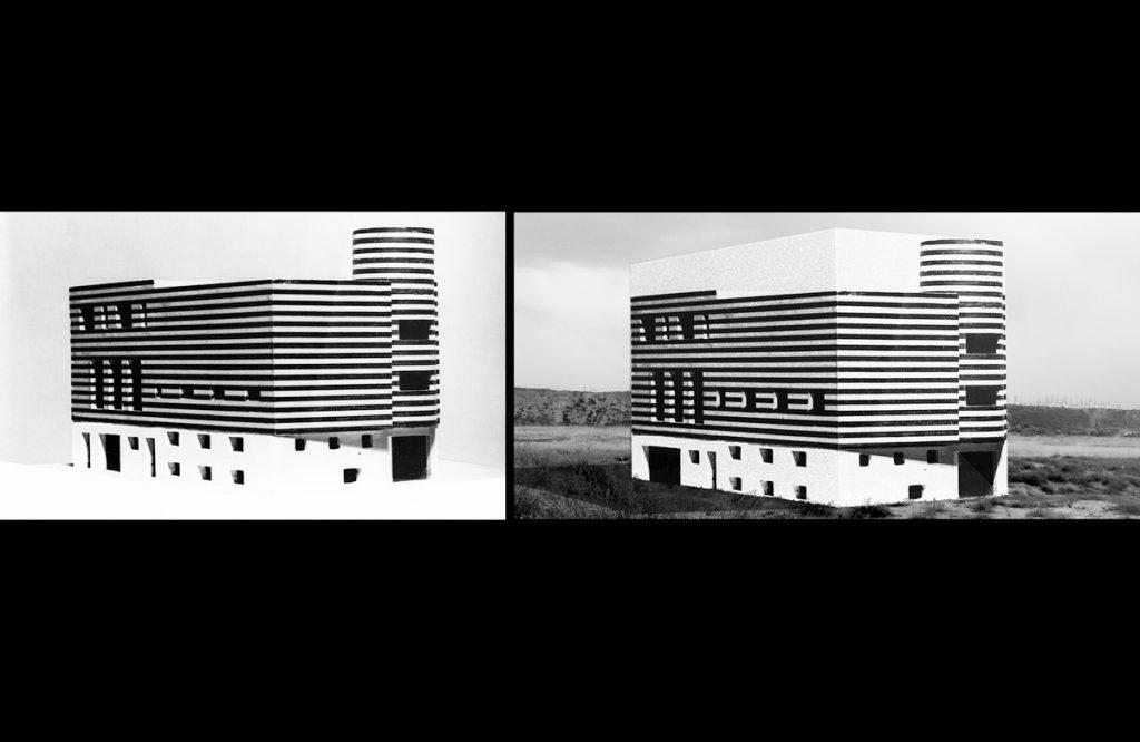 Ines Weizman und Andreas Thiele, Projekt für ein re-enactment der Villa für Josephine Baker von Adolf Loos in Paris (1928) für Ordos 100, China, 2008, Abb.: Ines Weizman