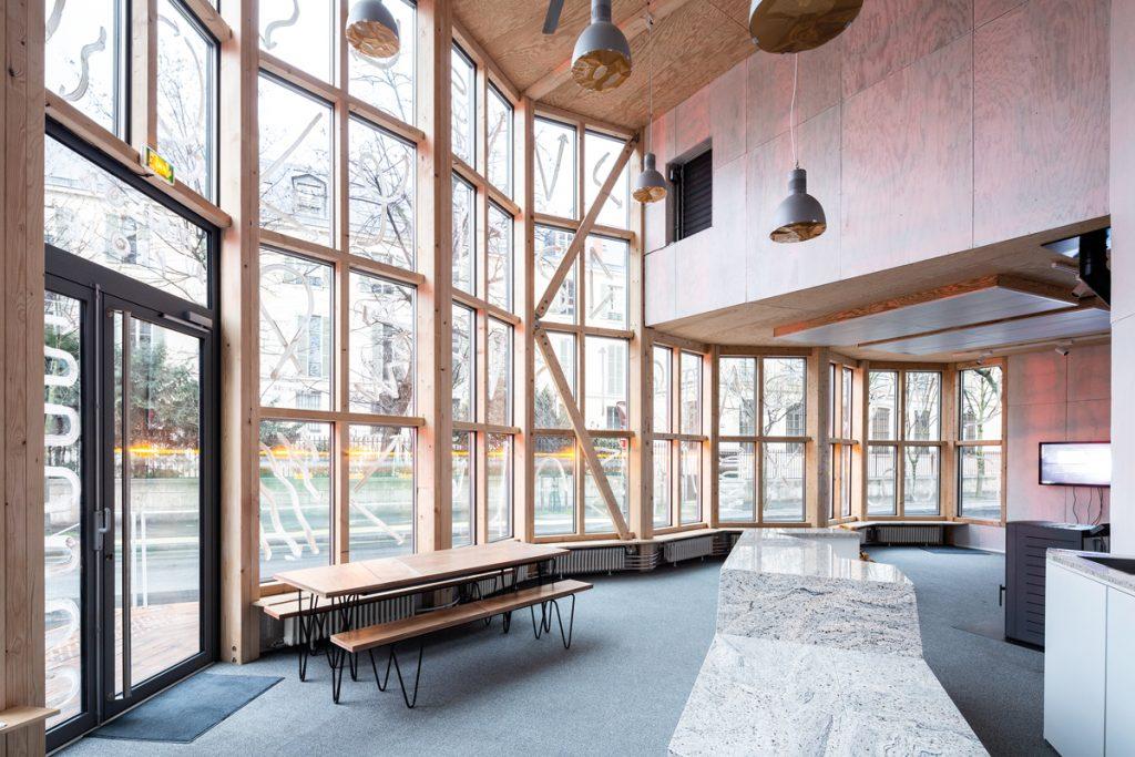 ENCORE HEUREUX, Maison du projet Morland, Paris 2018, Foto: Cyrus Cornut