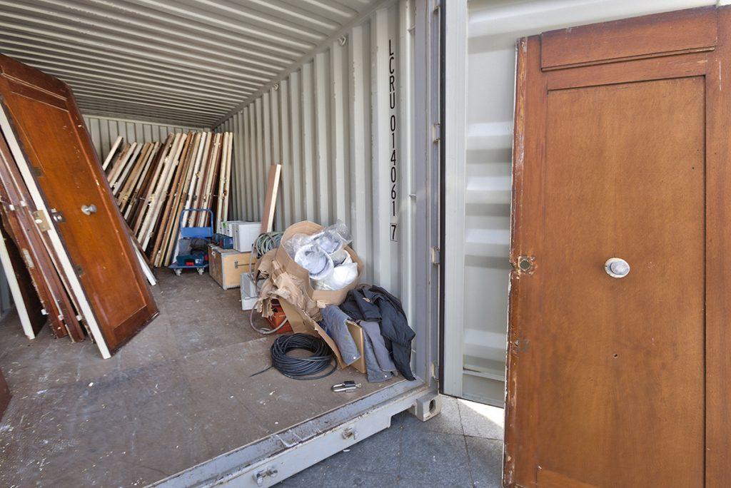 Türen für den Pavillon Circulaire, Foto: ENCORE HEUREUX