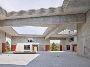 Adrian Streich, Schulanlage Schauenberg, Zürich 2019, Foto: Roland Bernath