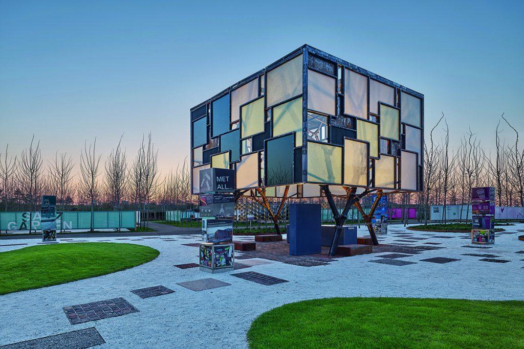 KIT-Fakultät Architektur mit 2hs Architekten und Ingenieur, Mehr.WERT.Pavillon, Heilbronn 2019, Fotos: Zooey Braun, Stuttgart